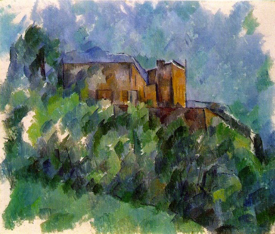 Paul Cézanne, Le Château Noir, 1904; private collection