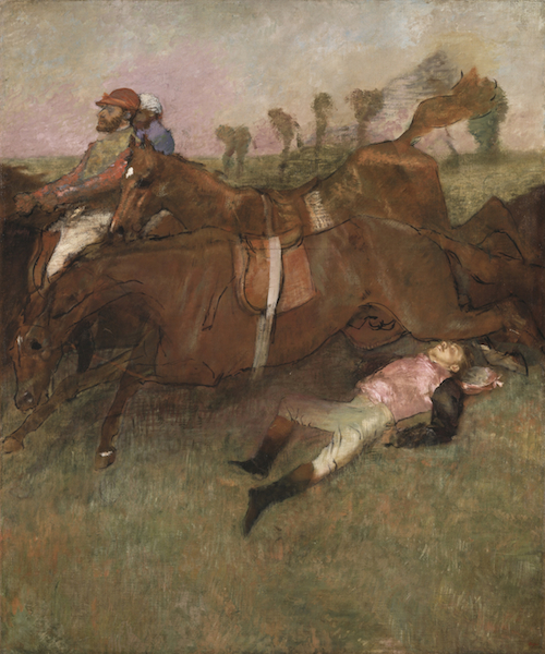 The Steeplechase: The Fallen Jockey, 1866 (1880-81 and c.1897)
