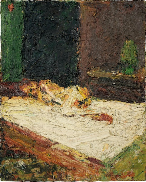 Auerbach, E.O.W Nude on Bed, 1959