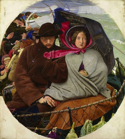 Ford Madox Brown, The Last of England, 1855