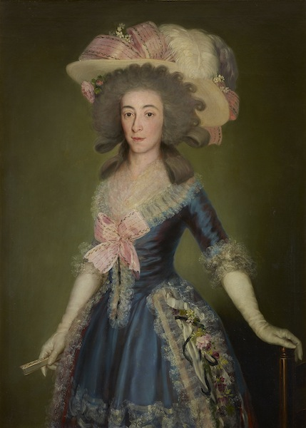 Francisco de Goya The Countess-Duchess of Benavente 1785; private collection, Spain © Joaquín Cortés