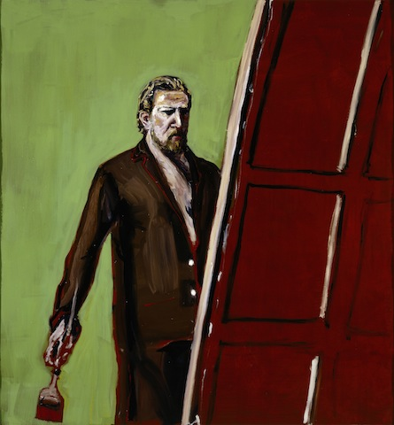 Julian Schnabel, Untitled (Self Portrait), 2004