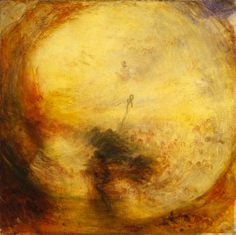 JMW Turner, Light and Colour (Goethe's Theory) – The Morning after the Deluge – Moses Writing in the Book of Genesis, 1843