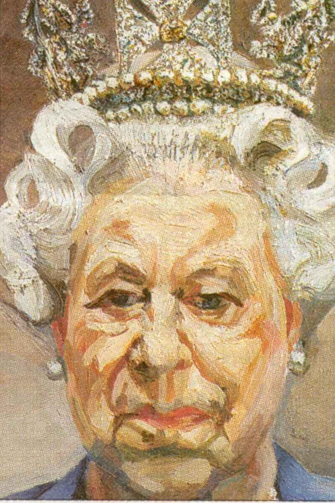 Lucian Freud, The Queen, 2001