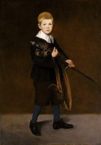 Edouard Manet, Boy with a Sword, 1861; © The Metropolitan Museum of Art, New York