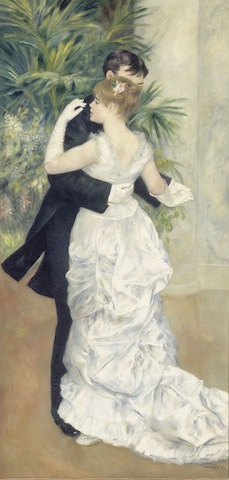 Dance in the City Pierre-Auguste Renoir, 1883; © RMN-Grand Palais (musée d'Orsay) / Hervé Lewandowski