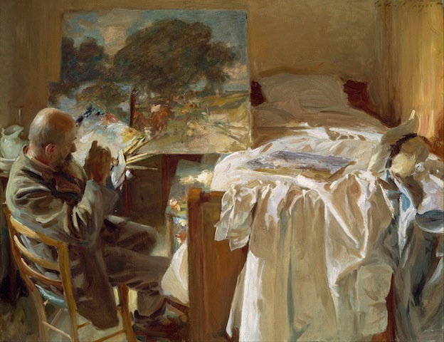 Sargent, An Artist in his Studio, 1904; Museum of Fine Arts, Boston