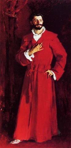 Sargent, Dr Pozzi at Home, 1881; Armand Hammer Collection, Hammer Museum, Los Angeles