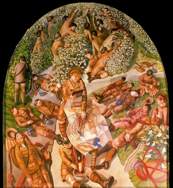 Stanley Spencer, Map Reading
