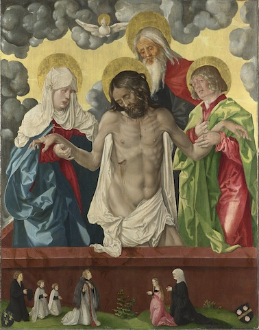 Hans Baldung Grien, The Trinity and Mystic Pietà, 1512