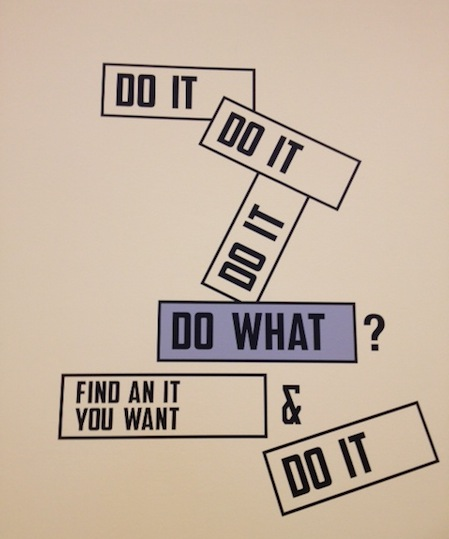 Lawrence Weiner, Do It