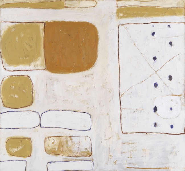 William Scott, Sand and Ochre, 1960–1, Tate © 2013 estate of William Scott