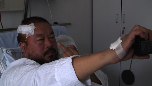 Ai Weiwei in hospital