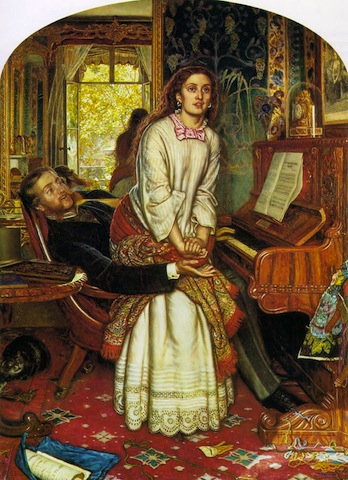 William Holman Hunt, The Awakening Conscience, 1853