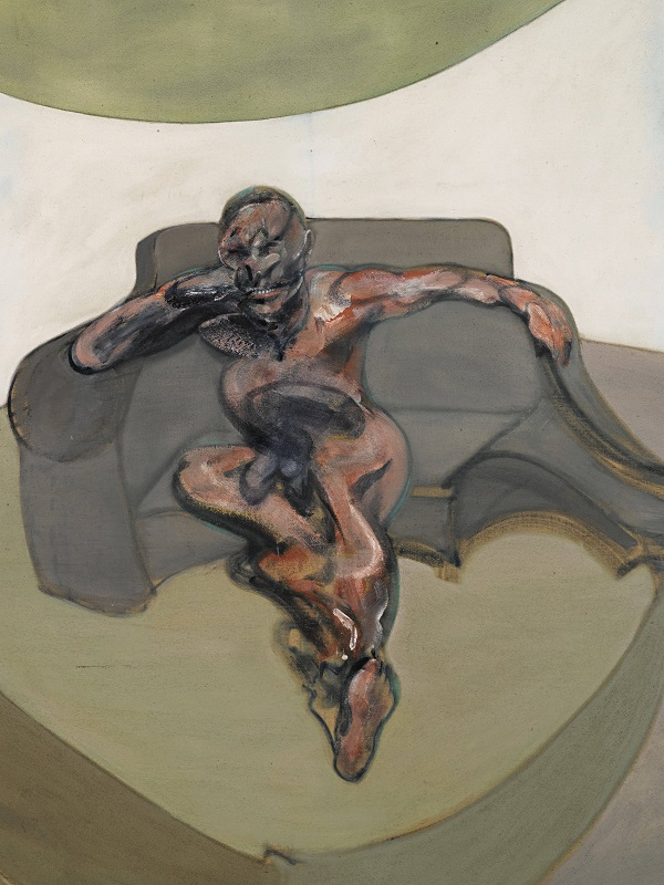 Francis Bacon, Portrait, 1962  Oil paint on canvas Museum für Gegenwartskunst Siegen. The Lambrecht-Schadeberg Collection/Winners of the Rubens Prize of the City of   Siegen   © The Estate of Francis Bacon. All rights reserved. DACS, London.