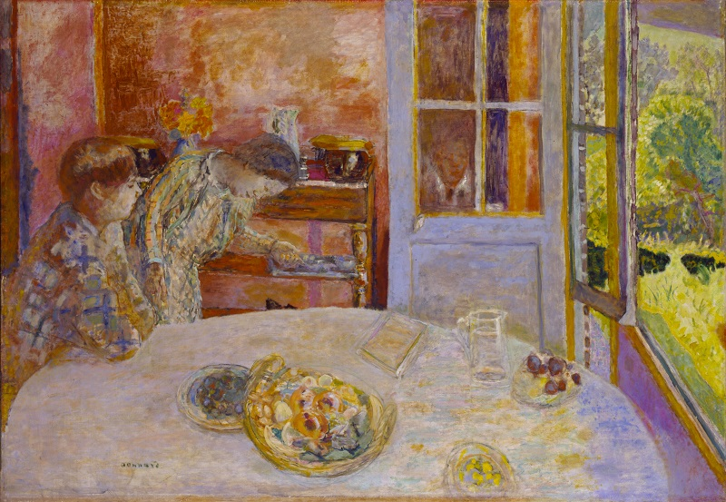 Pierre Bonnard, The Dining Room, Vernon, c.1925  Ny Carlsberg Glyptotek, Copenhagen  Photo © Ny Carlsberg   Glyptotek, Copenhagen