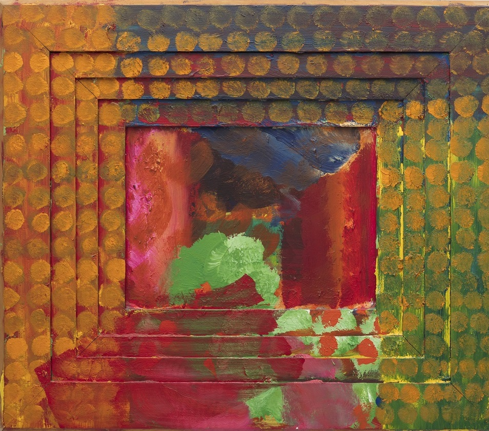 HOWARD HODGKIN Portrait of the Artist, 1984 - 1987