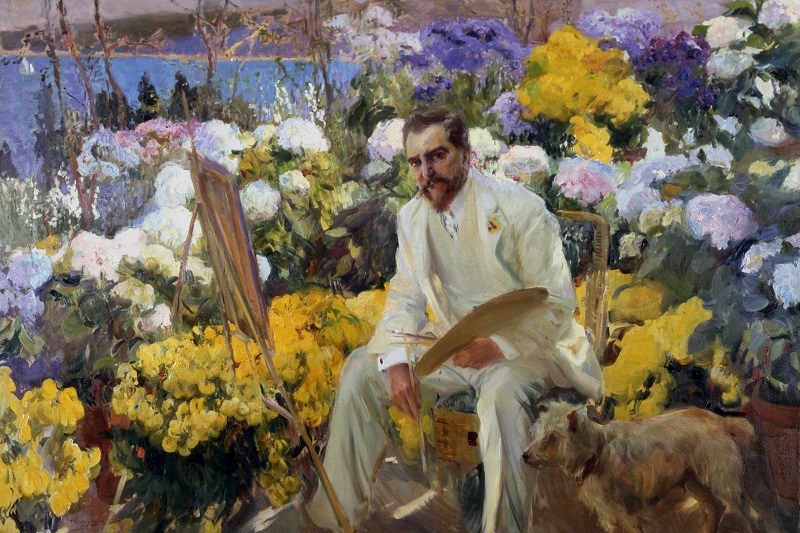 Joaquín Sorolla, Louis Comfort Tiffany, 1911, Oil on canvas, On loan from the Hispanic Society of America, New York, Photo © Courtesy of The Hispanic Society of America, New York
