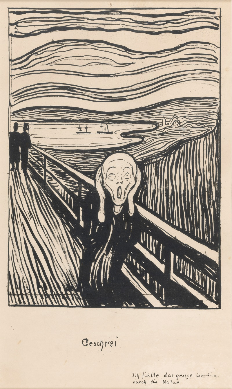 The Scream 1895, Edvard Munch (1863-1944), Private Collection, Norway. Photo: Thomas Widerberg