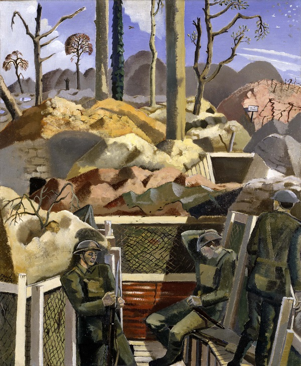 Paul Nash, Spring in the Trenches, Ridge Wood, 1917, 1918  Imperial War Museum, London ©Tate