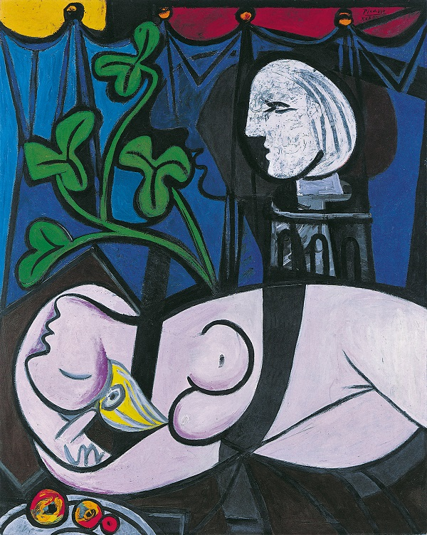 Nude, Green Leaves and Bust, 1932, Oil on canvas, Private collection (c) Succession Picasso /DACS London 2018