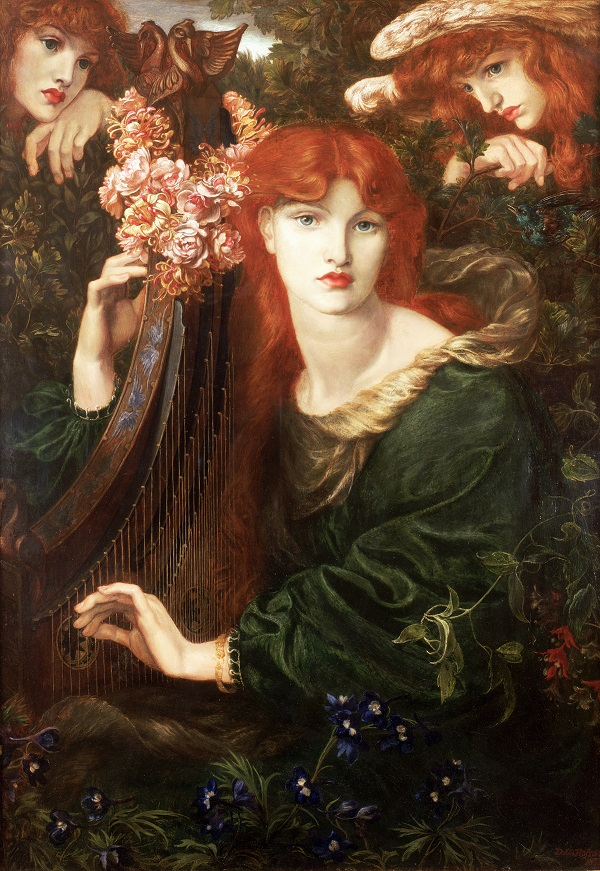 Dante Gabriel Rossetti, La Ghirlandata, 1873 © Guildhall Art Gallery 2015 Photo: Scala Florence / Heritage Images
