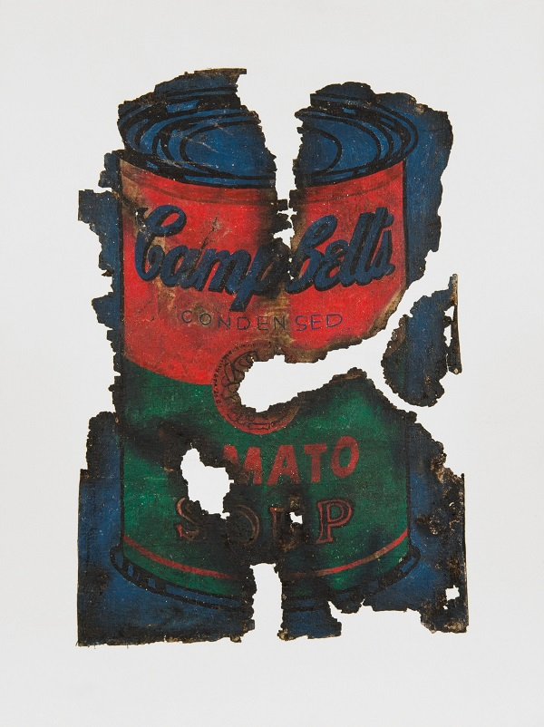 Komar and Melamid, Post Art No 1, (Warhol), 1973, Oil paint on canvas Photo: Courtesy The Boxer Collection, London © Komar and Melamid