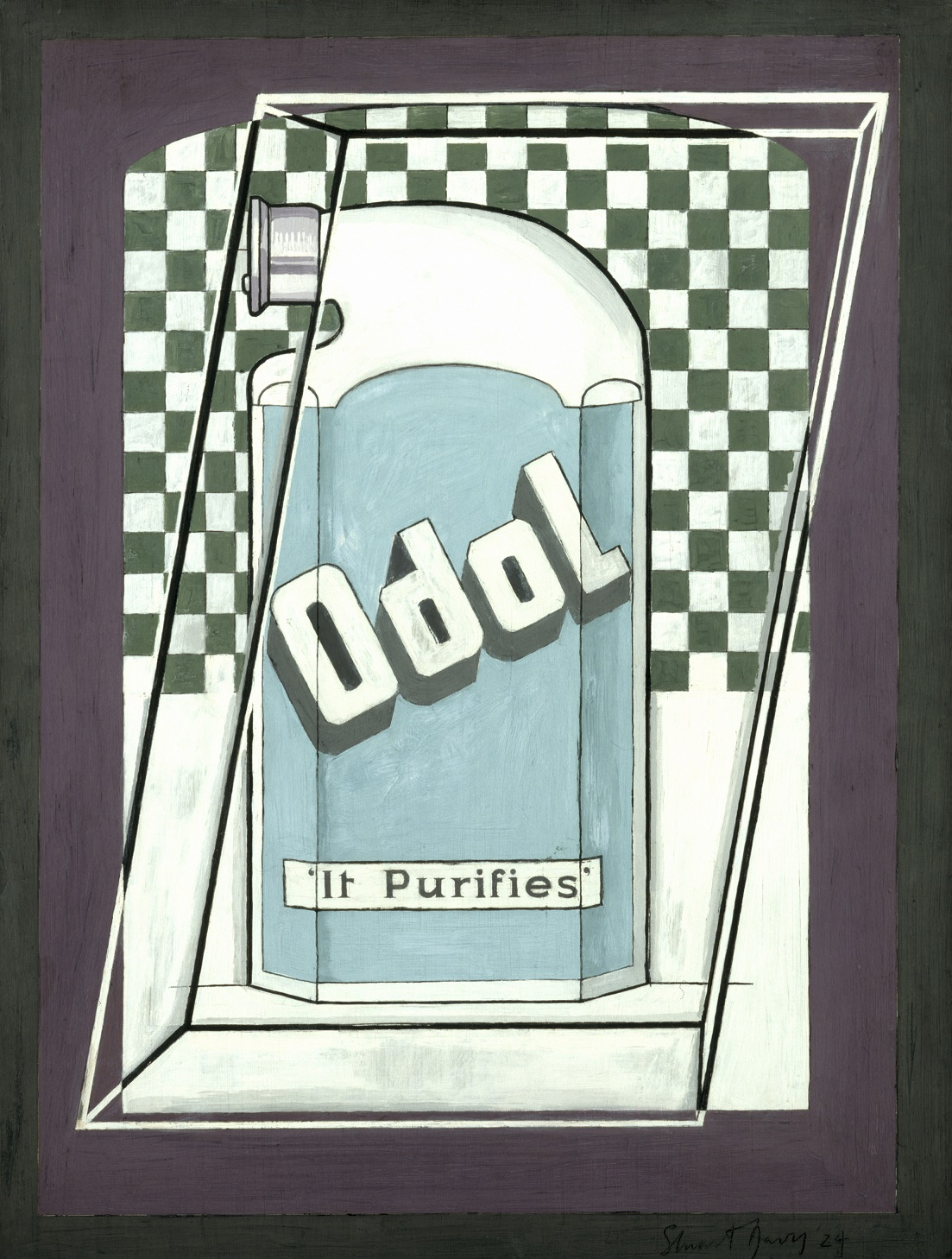 Odol (c) The estate of Stuart Davis -DACS, London - VAGA, New York 2017