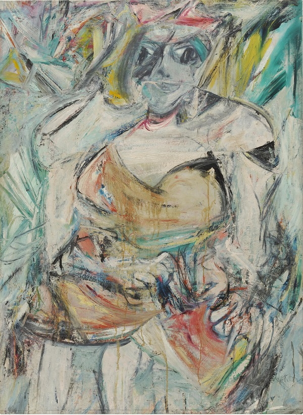 Willem De Kooning, Woman II, 1952, Oil, enamel and charcoal on canvas, The Museum of Modern Art, New York.