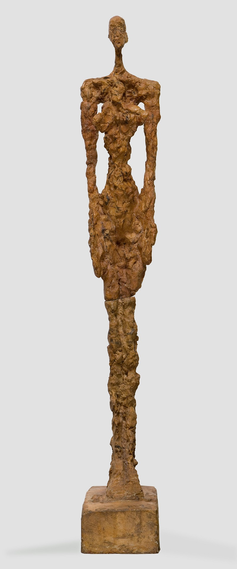 Woman of Venice IV,  1956, Plaster, Collection Fondation Alberto et Annette Giacometti, Paris  © Alberto Giacometti Estate, ACS/DACS, 2017