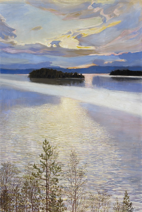 Lake View, 1901, Finnish National Gallery, Ateneum Art Museum, Helsinki, Finland, Antell Collections