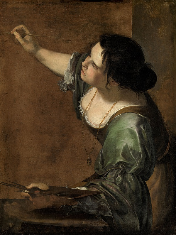 Artemisia Gentileschi, Self-portrait as the Allegory of Painting (La Pittura), c.1638-9, Royal Collection Trust / © Her Majesty Queen Elizabeth II 2016