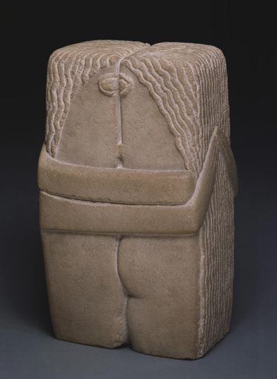 Constantin Brancusi, The Kiss, 1916; Philadelphia Museum of Art /© Artists Rights Society (ARS), New York / ADAGP, Paris