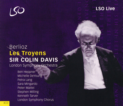 Sir Colin Davis conducting Berlioz's Les Troyens on LSO Live