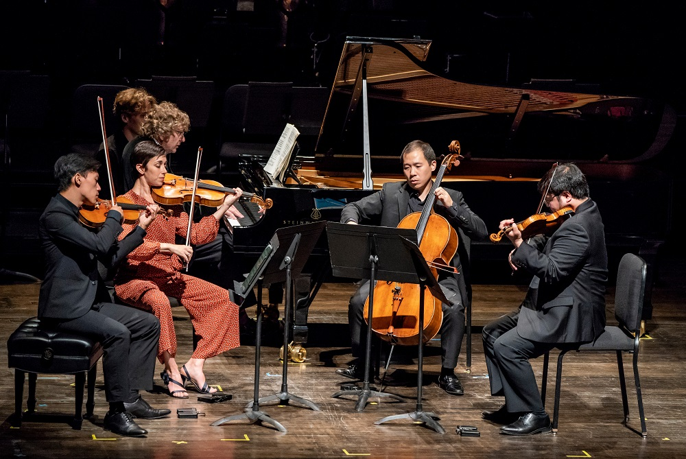 Parker QUartet and Piers Lane in Korngold