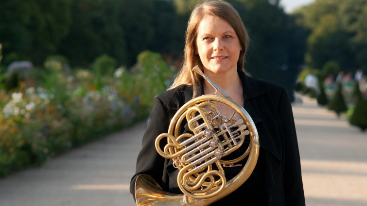 German horn player Marie-Luise Neunecker (photo by Janne Saksala)