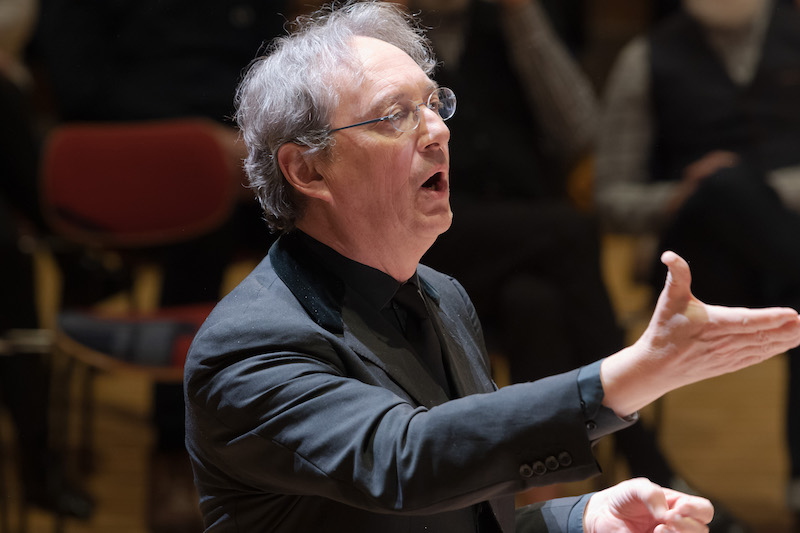 Peter Phillips, conductor of the Tallis Scholars