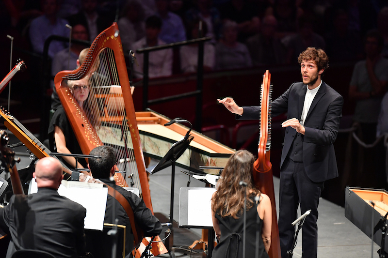 Raphaël Pichon conducts the Ensemble Pygmalion performing Monteverdi's Vespers at the BBC Proms.
