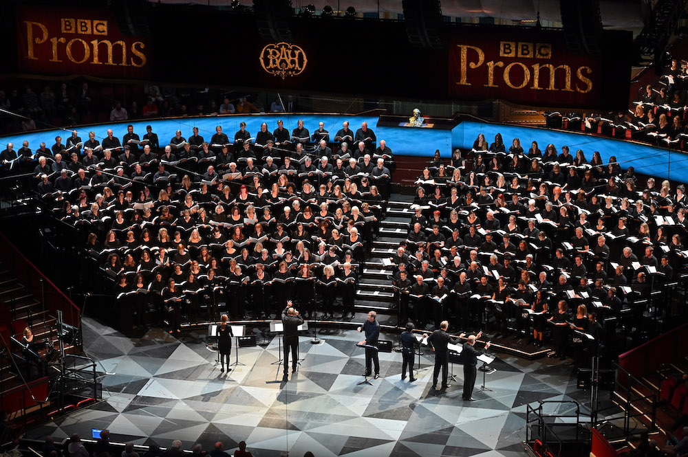 Choirs sing the European premiere of John Luther Adams's In the Name of the Earth