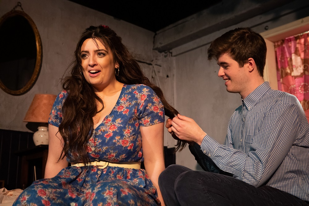 Alis Wyn Davies and Luke Rhodrin in 'A Prayer for Wings'