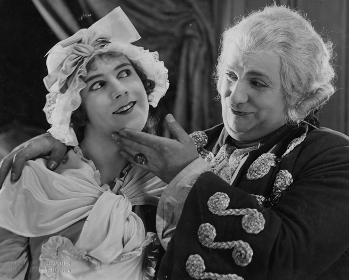 Scene from film Rosenkavalier