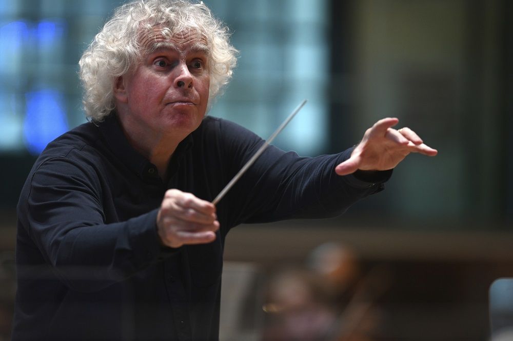 Simon Rattle in LSO St Luke's