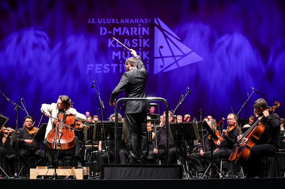 Capucon and Tonhalle Orchestra at Turgutreis