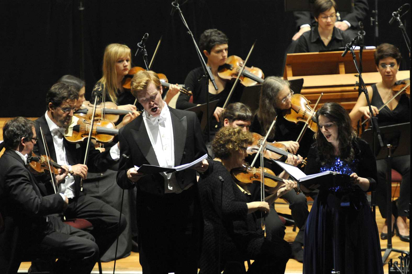 Tim Mead and Elizabeth Watts in Joseph and his Brethen at the 2013 Gottingen Handel Festival