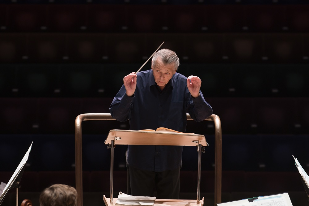 Mariss Jansons at the Barbican
