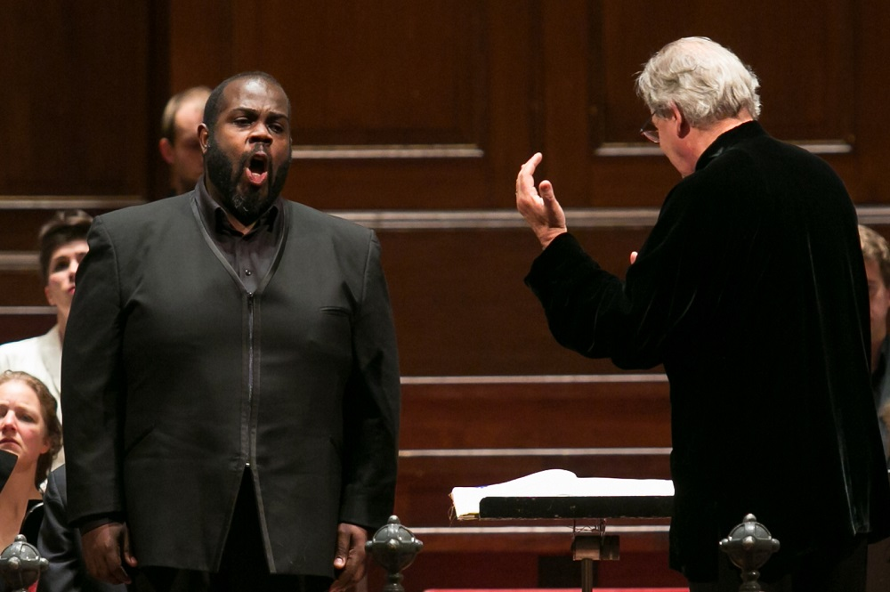 Reginald Mobley with John Eliot Gardiner