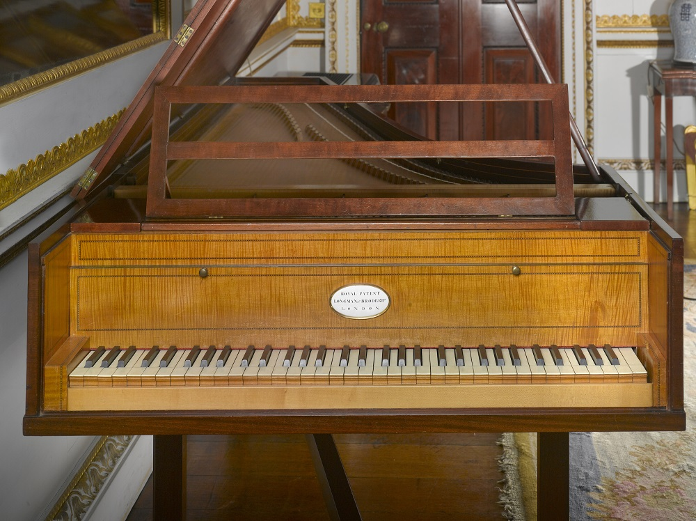 Haydn piano at Hatchlands