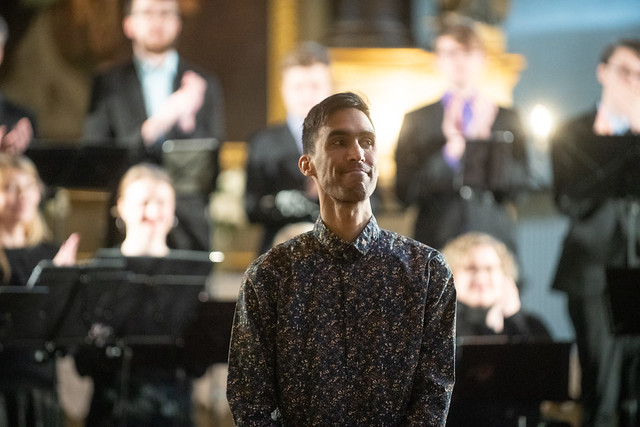 Gabriel Dharmoo in Dome Church Concert