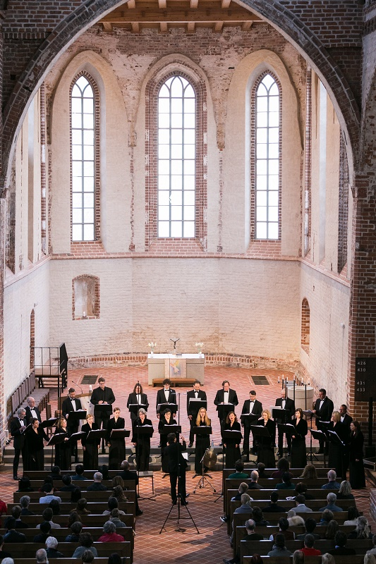 Latvian Radio Choir in St John's Church Tartu
