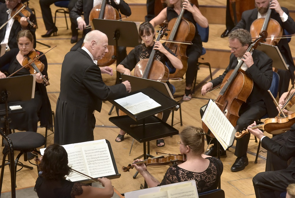 Bernard Haitink conducting the COE in Lucerne